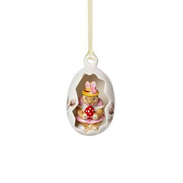 Villeroy & Boch - Bunny Tales - zawieszka-jajko - zajączek Anna - wysokość: 7 cm