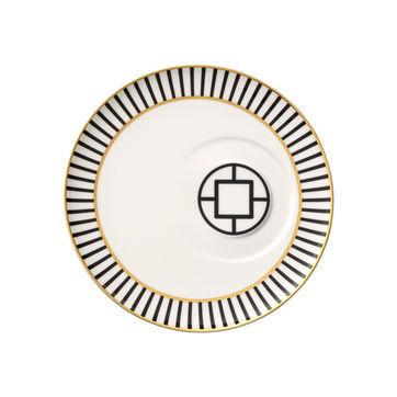 Villeroy & Boch - MetroChic - spodek do filiżanki do kawy lub herbaty - średnica: 18,5 cm