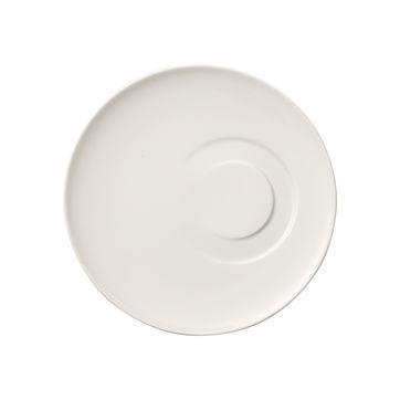 Villeroy & Boch - MetroChic blanc - spodek do filiżanki do kawy lub herbaty - średnica: 18,5 cm