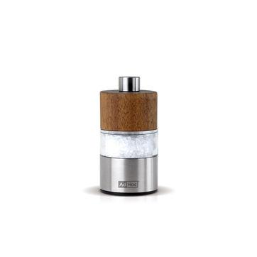Adhoc - David - młynek do pieprzu lub soli - wysokość: 6 cm