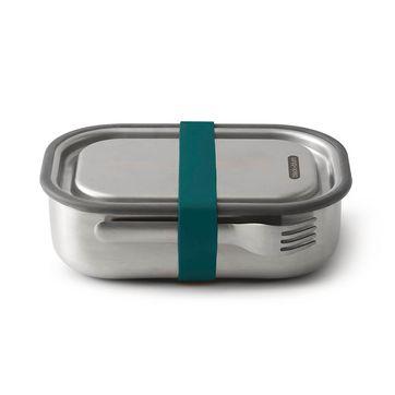 Black Blum - Box Appetit - pojemnik na lunch z widelcem - wymiary: 20 x 14 x 5,5 cm