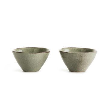Sagaform - Nature - zestaw 2 miseczek - średnica: 14 cm