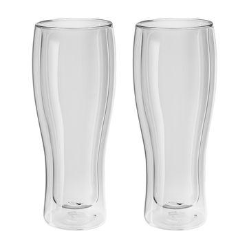 Zwilling - Sorrento Bar - 2 szklanki do piwa o podwójnych ściankach - pojemność: 0,41 ml
