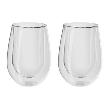 Zwilling - Sorrento Bar - 2 szklanki do czerwonego wina o podwójnych ściankach - pojemność: 0,35 l