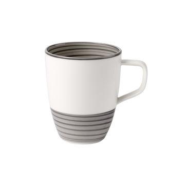 Villeroy & Boch - Manufacture gris - kubek - pojemność: 0,38 l