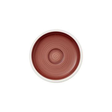 Villeroy & Boch - Manufacture rouge - spodek do filiżanki do espresso - średnica: 12 cm