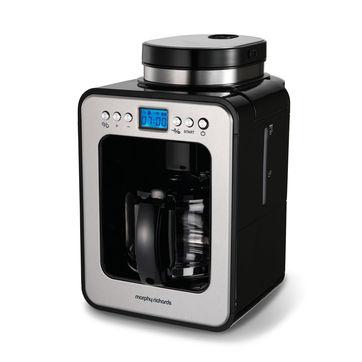Morphy Richards - Evoke - przelewowy ekspres do kawy z młynkiem - pojemność: 0,5 l