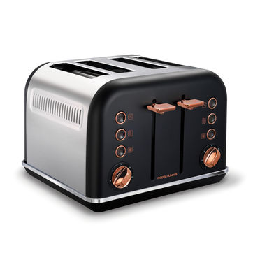 Morphy Richards - Accents Rose Gold - toster - na 4 kromki