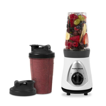 Morphy Richards - Blend Express - blender do koktajli - pojemność: 2 x 0,5 l