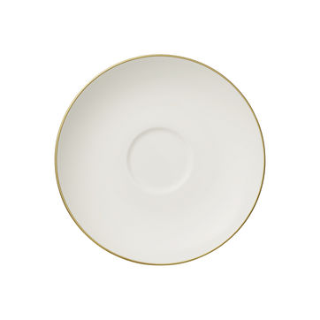 Villeroy & Boch - Anmut Gold - spodek do filiżanki do kawy - średnica: 15 cm