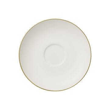 Villeroy & Boch - Anmut Gold - spodek do filiżanki do kawy lub herbaty - średnica: 15 cm