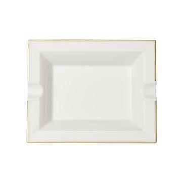 Villeroy & Boch - Anmut Gold - popielniczka - wymiary: 21 x 17 cm