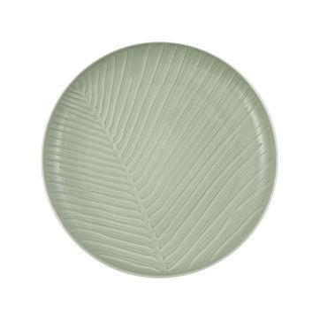 Villeroy & Boch - it's my match mineral - talerz uniwersalny - średnica: 24 cm; wzór: liść