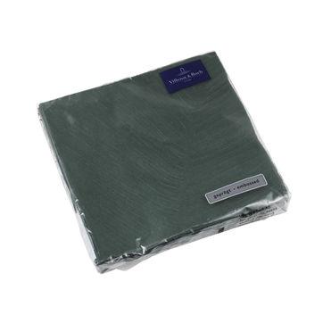 Villeroy & Boch - it's my match green - serwetki papierowe - wymiary: 33 x 33 cm; wzór: liść