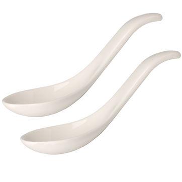 Villeroy & Boch - Soup Passion - zestaw 2 łyżek do zupy - długość: 14,5 cm