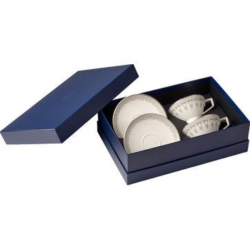 Villeroy & Boch - La Classica Contura - zestaw do herbaty - dla 2 osób