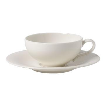 Villeroy & Boch - New Cottage Basic - filiżanka do herbaty ze spodkiem - pojemność: 0,24 l