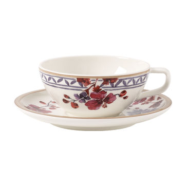 Villeroy & Boch - Artesano Provencal Lavender - filiżanka do herbaty ze spodkiem - pojemność: 0,24 l