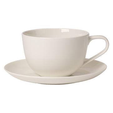 Villeroy & Boch - For Me - filiżanka śniadaniowa ze spodkiem - pojemność: 0,35 l