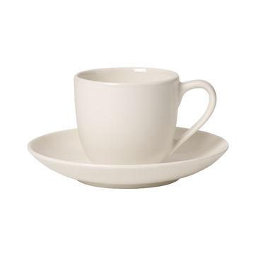 Villeroy & Boch - For Me - filiżanka do espresso ze spodkiem - pojemność: 0,1 l