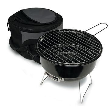 Sagaform - BBQ - przenośny mini grill i torba termiczna - szaro-czarna torba