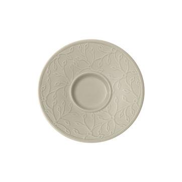 Villeroy & Boch - Caffé Club Floral Touch of Smoke - spodek pod filiżankę do espresso - średnica: 12 cm