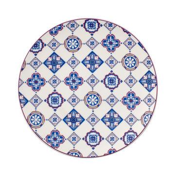 Villeroy & Boch - Indigo Caro - talerz sałatkowy Coupe - średnica: 21 cm