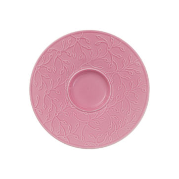 Villeroy & Boch - Caffé Club Floral Touch of Rose - spodek pod filiżankę do kawy - średnica: 14 cm