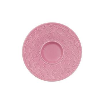 Villeroy & Boch - Caffé Club Floral Touch of Rose - spodek pod filiżankę do espresso - średnica: 12 cm
