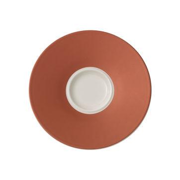 Villeroy & Boch - Caffé Club Uni Oak - spodek pod filiżankę do kawy - średnica: 14 cm