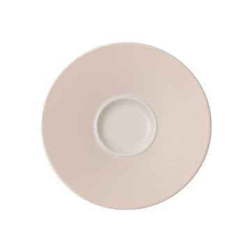 Villeroy & Boch - Caffé Club Uni Pearl - spodek pod filiżankę do kawy - średnica: 14 cm