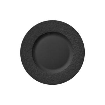 Villeroy & Boch - Manufacture Rock - talerz sałatkowy - średnica: 22 cm