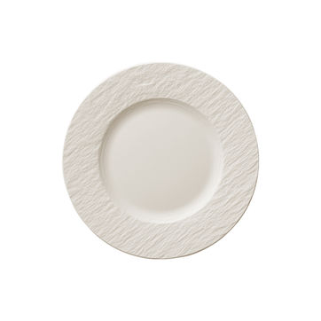 Villeroy & Boch - Manufacture Rock blanc - talerz sałatkowy - średnica: 22 cm
