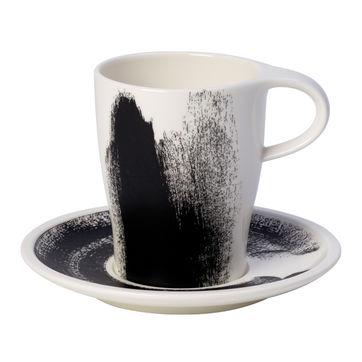 Villeroy & Boch - Coffee Passion Awake - kubek ze spodkiem - pojemność: 0,38 l