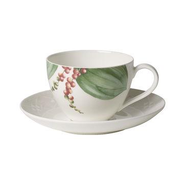 Villeroy & Boch - Malindi - filiżanka do kawy ze spodkiem - pojemność: 0,2 l