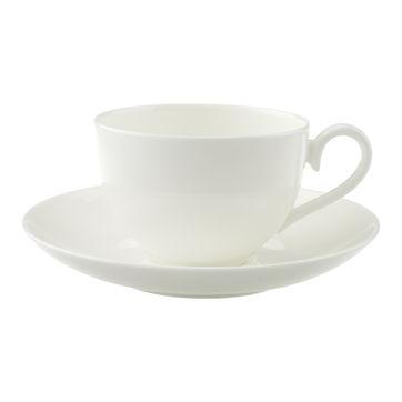 Villeroy & Boch - Royal - filiżanka do kawy ze spodkiem - pojemność: 0,2 l