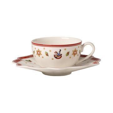 Villeroy & Boch - Toy's Delight - filiżanka do kawy lub herbaty ze spodkiem - pojemność: 0,2 l
