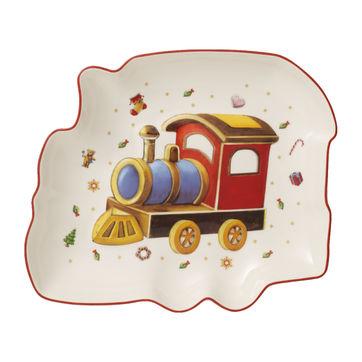 Villeroy & Boch - Toy's Delight - miska - lokomotywa - wymiary: 25,5 x 22 x 4 cm