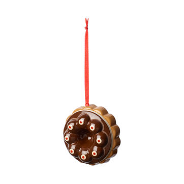 Villeroy & Boch - Winter Bakery Decoration - zawieszka - ciasto czekoladowe - średnica: 7 cm