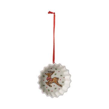 Villeroy & Boch - Winter Bakery Decoration - zawieszka - foremka z reniferem - średnica: 9 cm