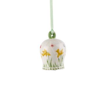 Villeroy & Boch - New Flower Bells - zawieszka dzwonek - żonkil - wysokość: 7 cm