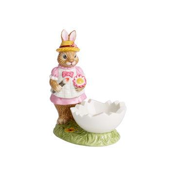 Villeroy & Boch - Bunny Tales - kieliszek na jajko - zajączek Anna - wymiary: 9 x 5,5 x 10 cm