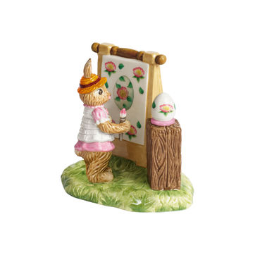 Villeroy & Boch - Bunny Tales - figurka - malująca Anna - wymiary: 13 x 9 x 11 cm