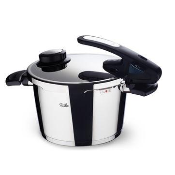 Fissler - Vitavit Edition design - szybkowar + wkład do gotowania na parze - średnica: 26 cm; pojemność: 8,0 l