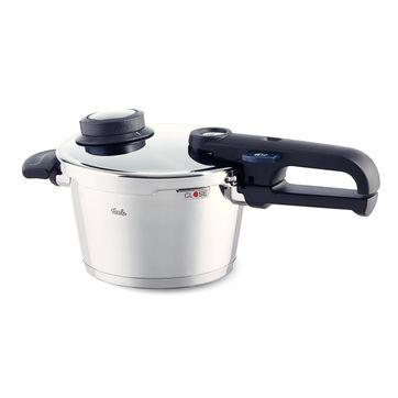 Fissler - Vitavit Premium - mały szybkowar + wkład do gotowania na parze - średnica: 18 cm; pojemność: 2,5 l