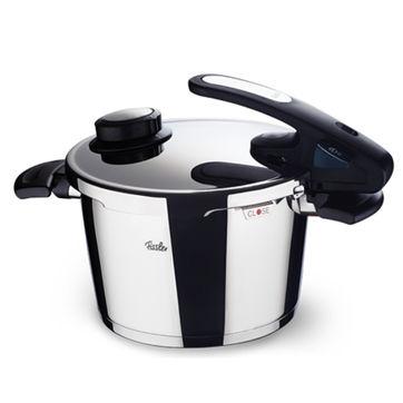 Fissler - Vitavit Edition design - szybkowar + wkład do gotowania na parze - średnica: 26 cm; pojemność: 10,0 l