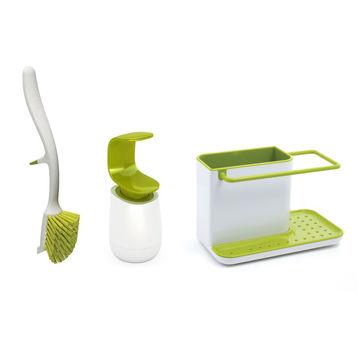 Joseph Joseph - Caddy - zestaw akcesoriów do zmywania naczyń - szczotka, organizer i dozownik do mydła