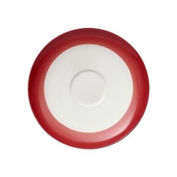 Villeroy & Boch - Colourful Life Deep Red - spodek do filiżanki do kawy - średnica: 14 cm