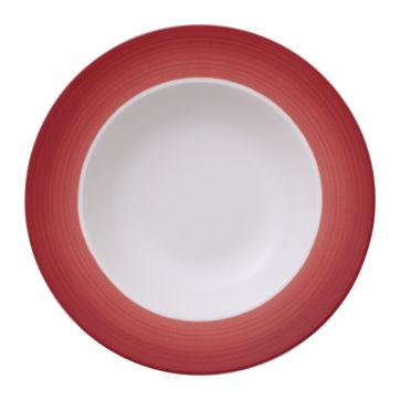 Villeroy & Boch - Colourful Life Deep Red - talerz głęboki - średnica: 25 cm