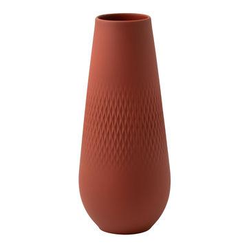 Villeroy & Boch - Manufacture Collier terre - wazon Carré - wysokość: 26 cm
